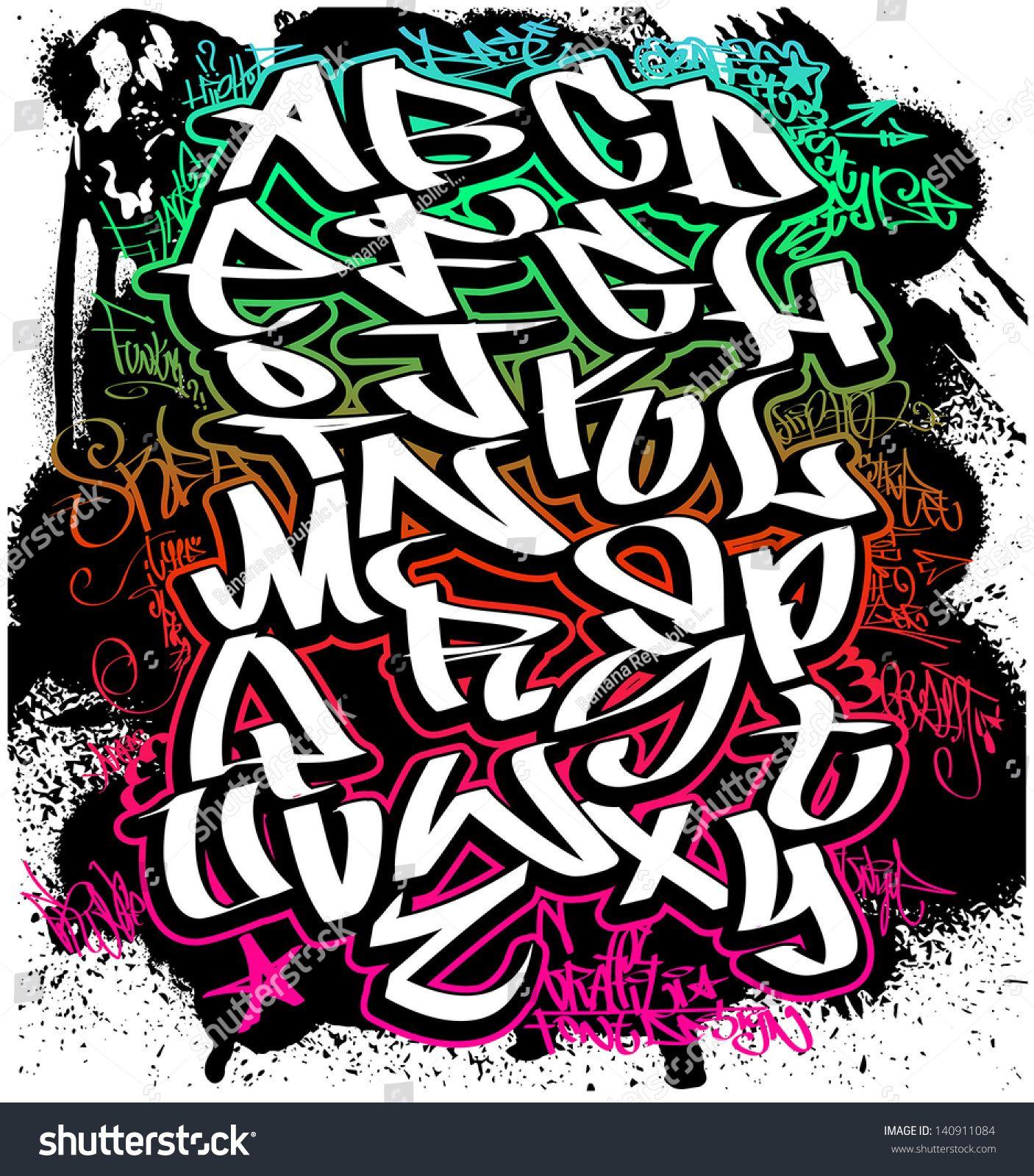 Graffiti Schriftarten