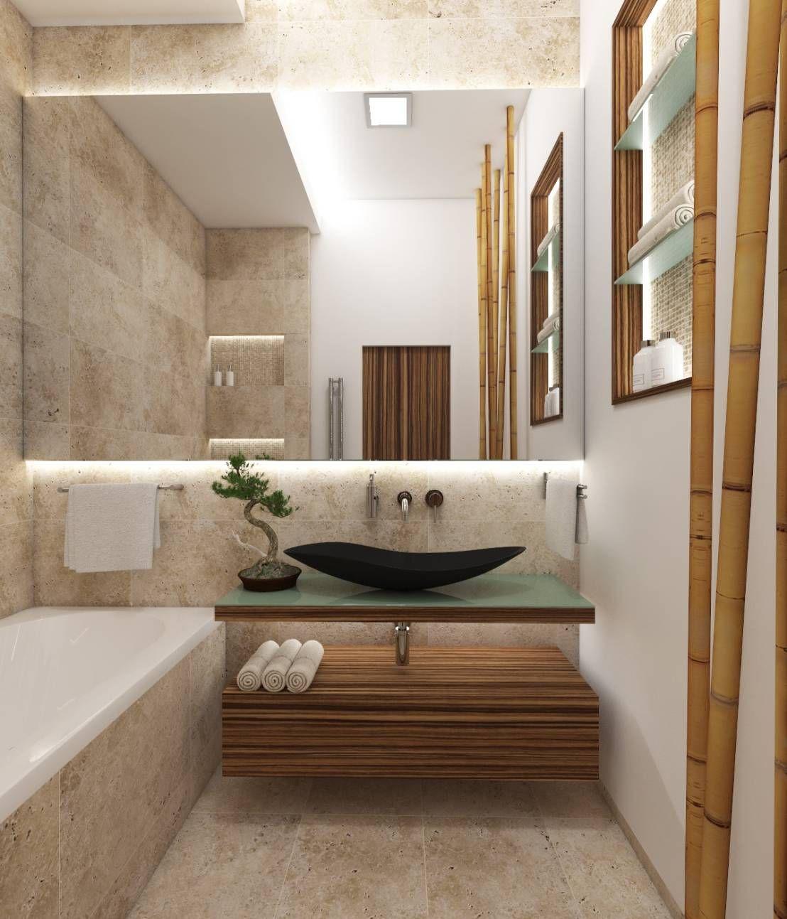 wie du mit naturstein jedes badezimmer versch nern kannst badezimmer ideen und tipps pinterest. Black Bedroom Furniture Sets. Home Design Ideas