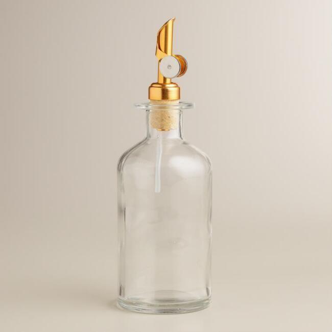4-Inch Liquor 10-Pack Firefly Imports Plastic Pet Corked Jar Bottles