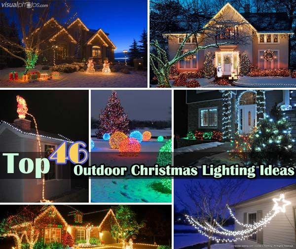 Top 46 outdoor christmas lighting ideas illuminate the for Christmas spirit ideas