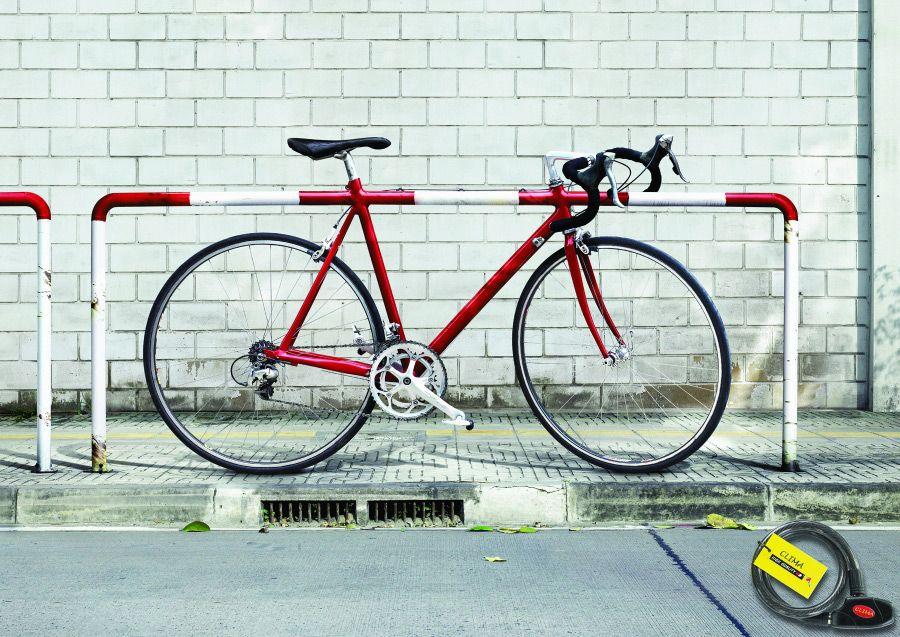 Clima Bicycle Lock Barrier Advertising Agency Leo Burnett