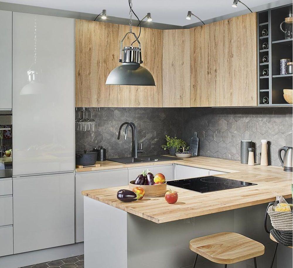 Projektowanie I Zakup Kuchni W Leroy Merlin Ceny Opinie Learning From Hollywood Kitchen Design Kitchen Remodel Modern Kitchen Design