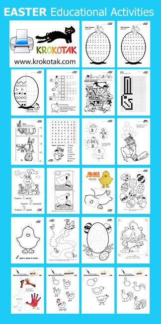 Easter Educational Activities