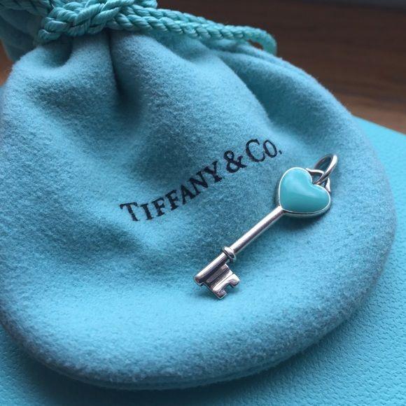 Tiffany Keys: Heart Key Pendant Details: Mini Heart Key Pendant, 1 inch long, no chain included, Tiffany box and bag included Tiffany & Co. Jewelry Necklaces