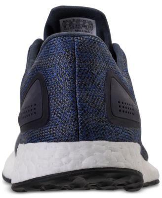 d42576e5c65bd adidas Men s PureBOOST Dpr Ltd Running Sneakers from Finish Line - Blue 11.5