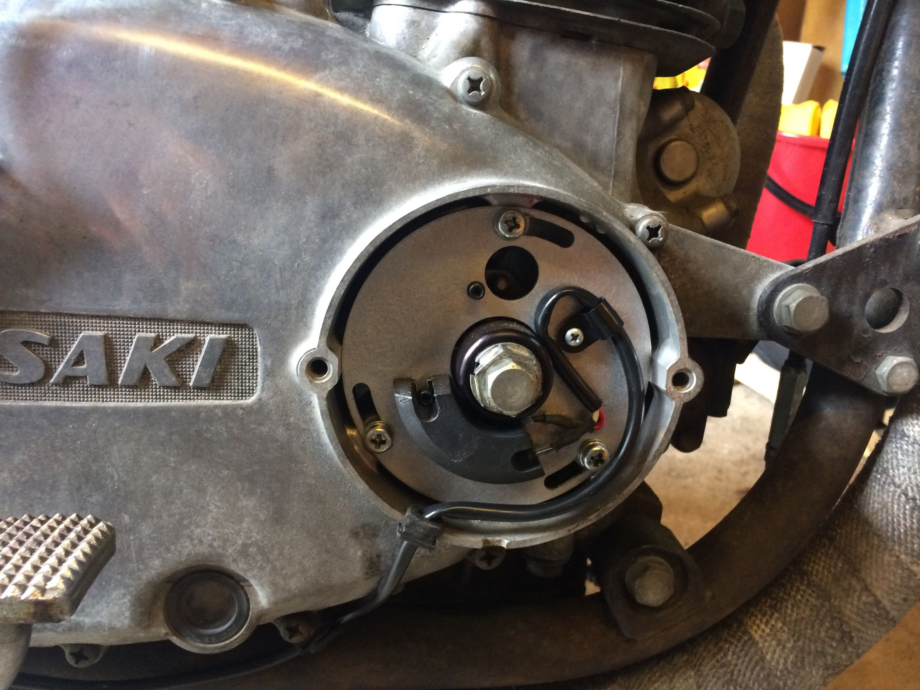 Dyna S electronic ignition installed – Shellsson