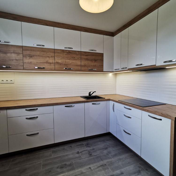 Biel I Drewno Ponadczasowy Duet Idealny Home Decor Kitchen Cabinets