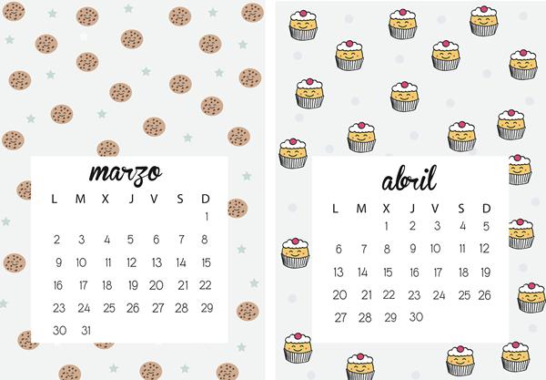 calendario 2015 bonito - Buscar con Google