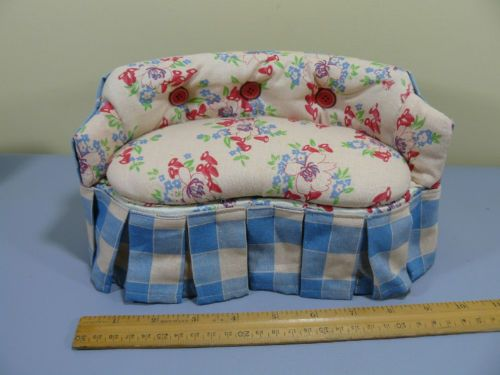Sewing Pin Cushion Sofa Couch Doll size NEW