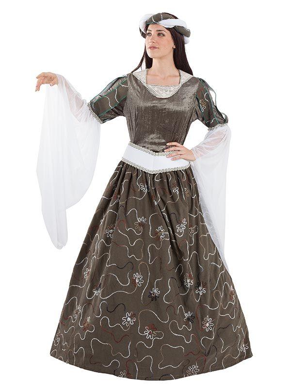 Pin en Disfraces medievales y epoca