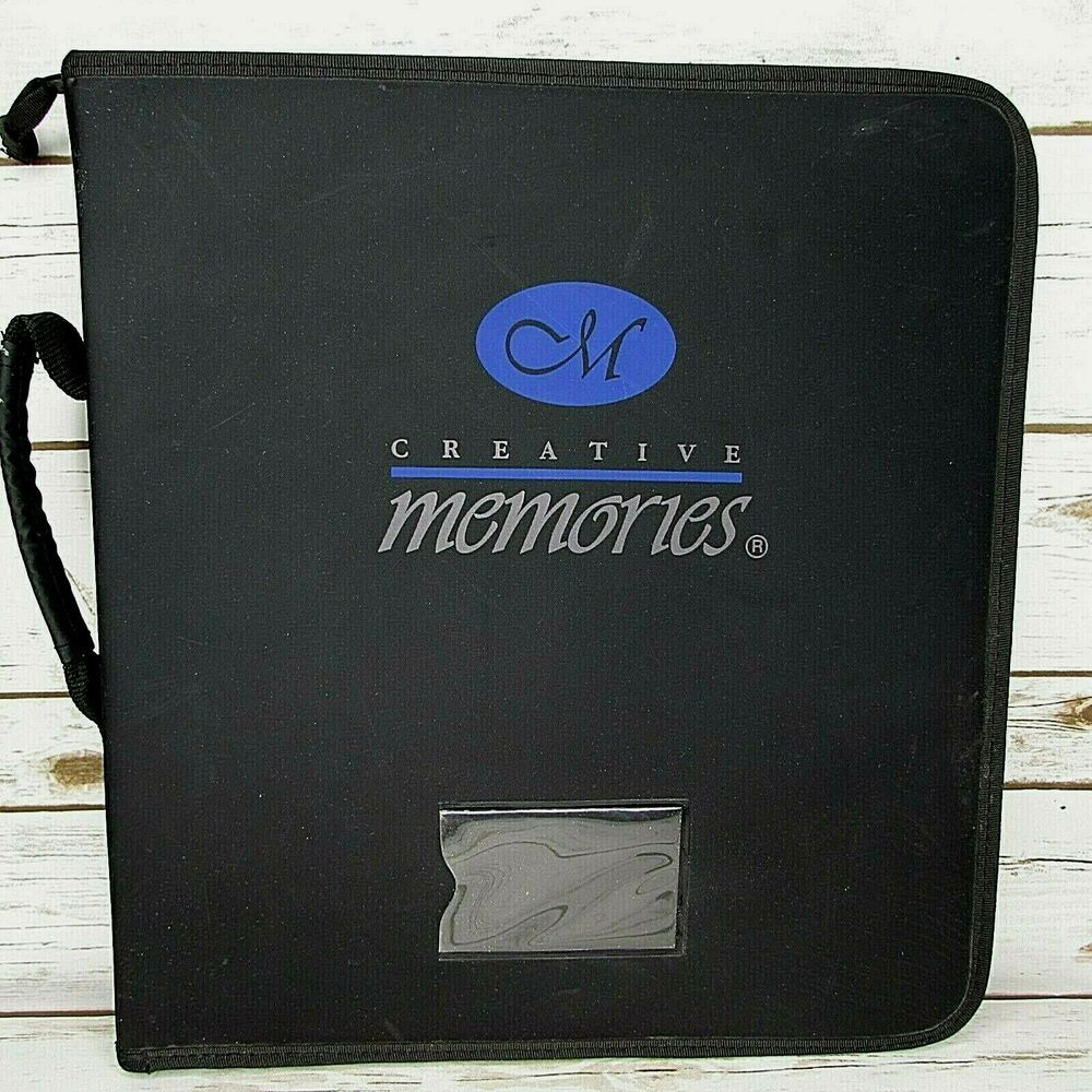 Creative Memories 3 Ring Scrapbook Sticker Organizer