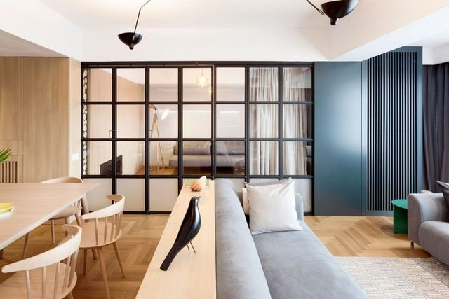 Versatile Apartment in Bucharest Merges Function and Style