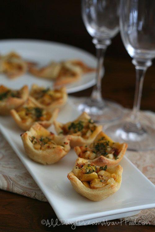 Apple & Caramelized Onion Tartlets