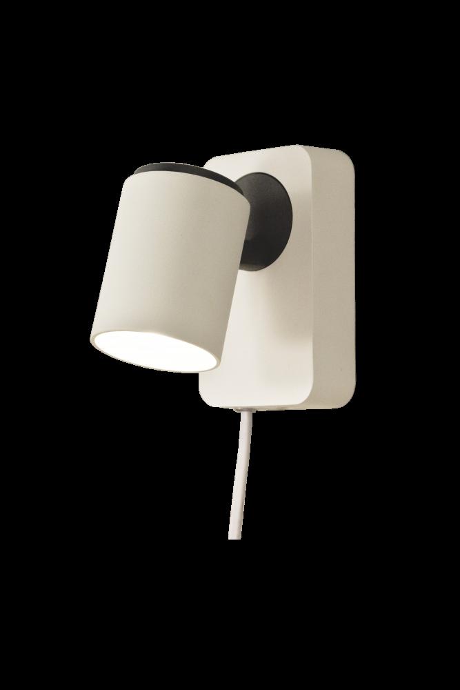 Juke Vegg Lampe Hvit Enkel Lamper Vegglamper Vegg