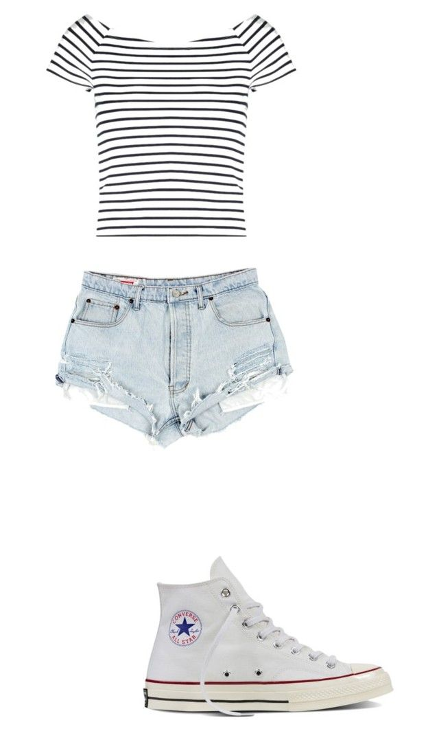 """""""Day in the city"""" by emelesio on Polyvore featuring Lipsy and Converse"""