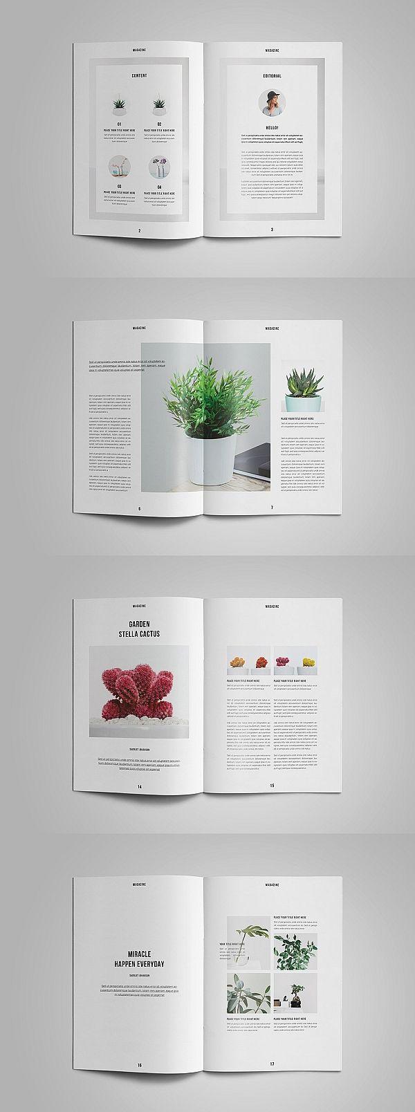 Nature Magazine Magazine Layout Design Magazine Layout Inspiration Book And Magazine Design