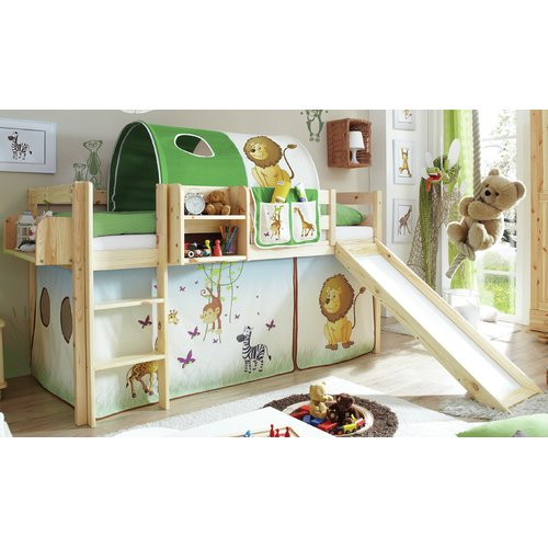Godstowe Cabin Bed With Drawers Bed With Slide Mid Sleeper Bed Bed