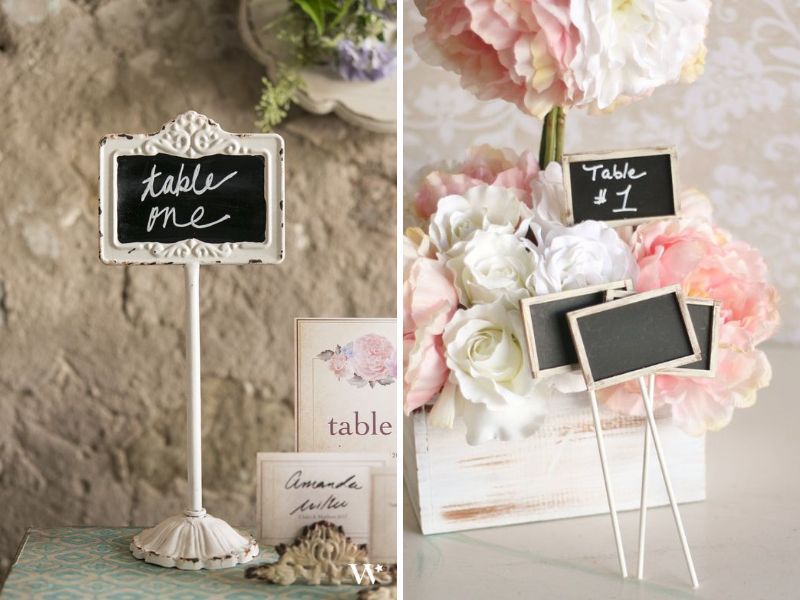 35 Most Ealing Wedding Table Number Ideas