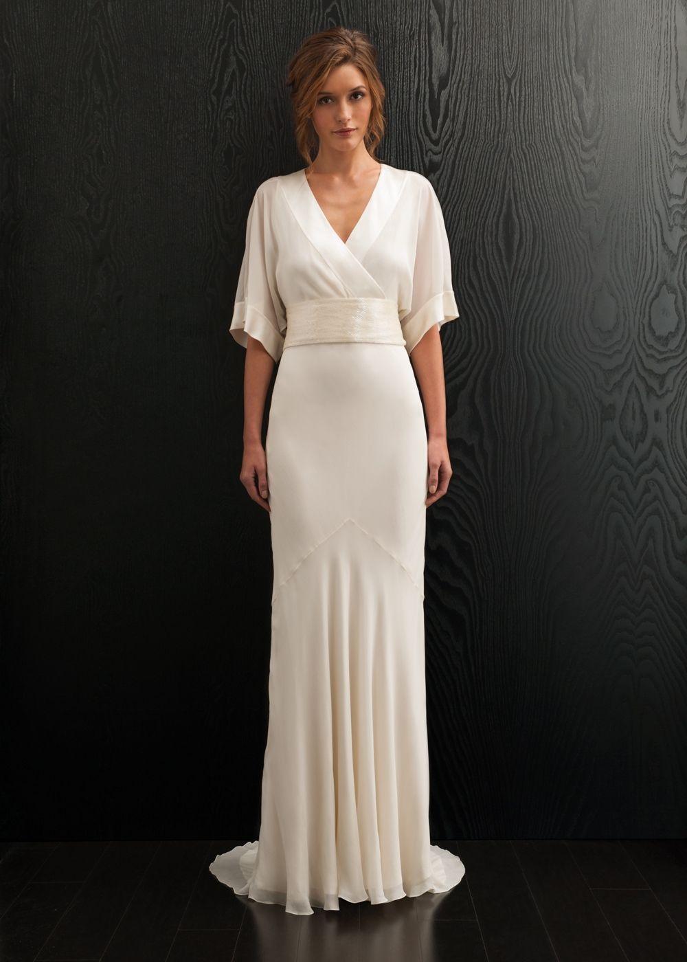 Amia Wedding Dress, Amanda Wakeley Designer Collection - Kimono ...