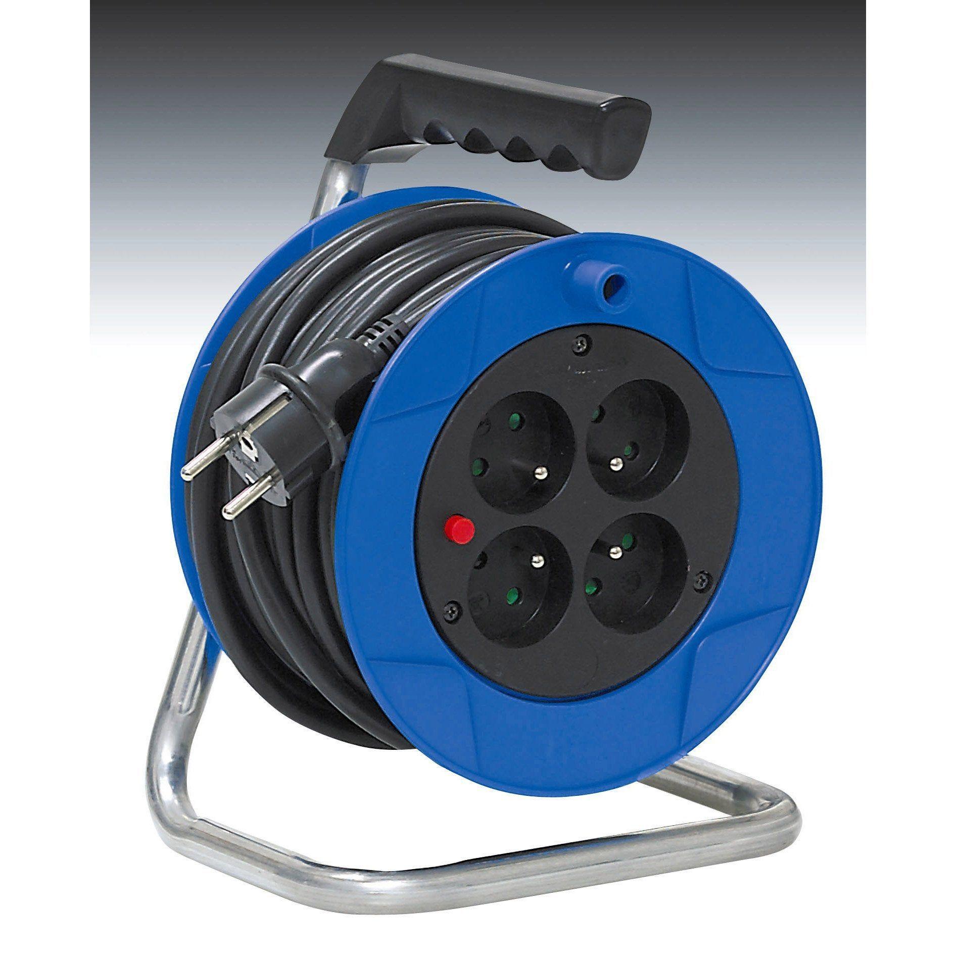 Enrouleur De Cable Electrique Bricolage L 15 M Brennenstuhl Enrouleur De Cable Cable Electrique Et Bricolage