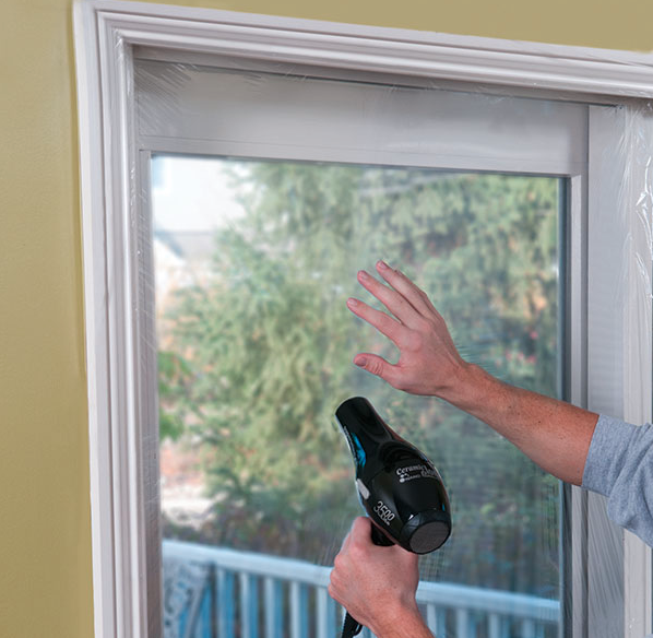 Heavy Duty Film Clear Eco Friendly Interior Window Insulation Film House Design