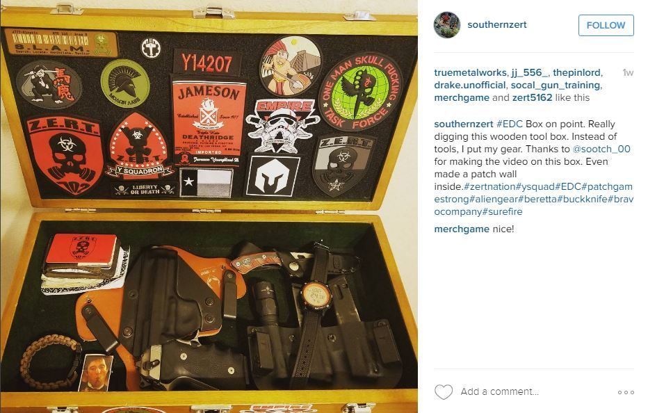 What a great way to store your guns and gear! Concealed