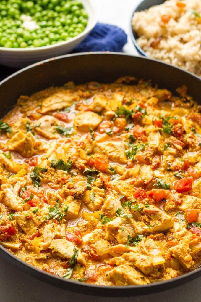 Quick chicken curry #chickenbreastrecipeseasy
