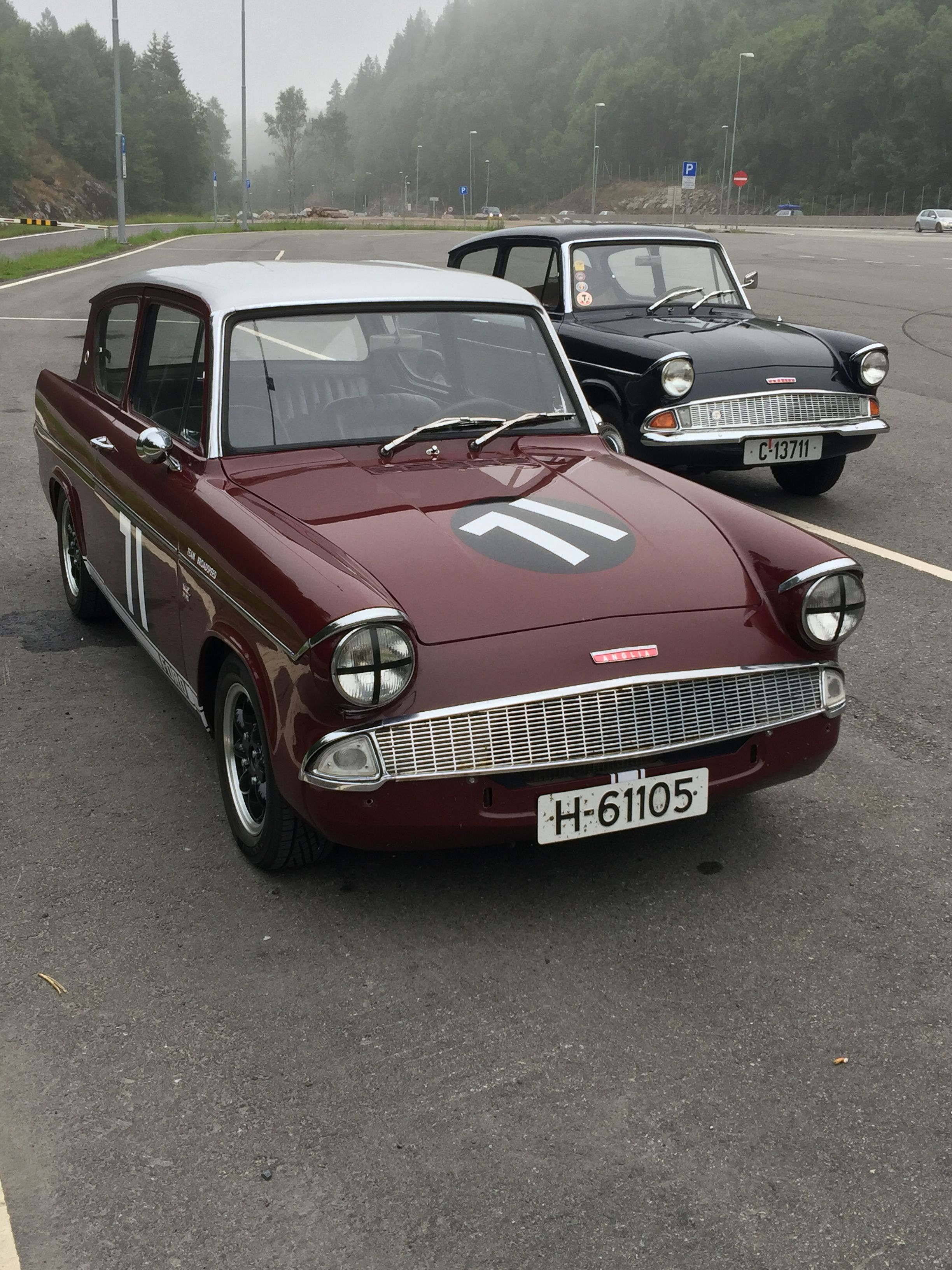 Ford Anglia Broadspeed Ford Classic Cars Ford Anglia Car Ford