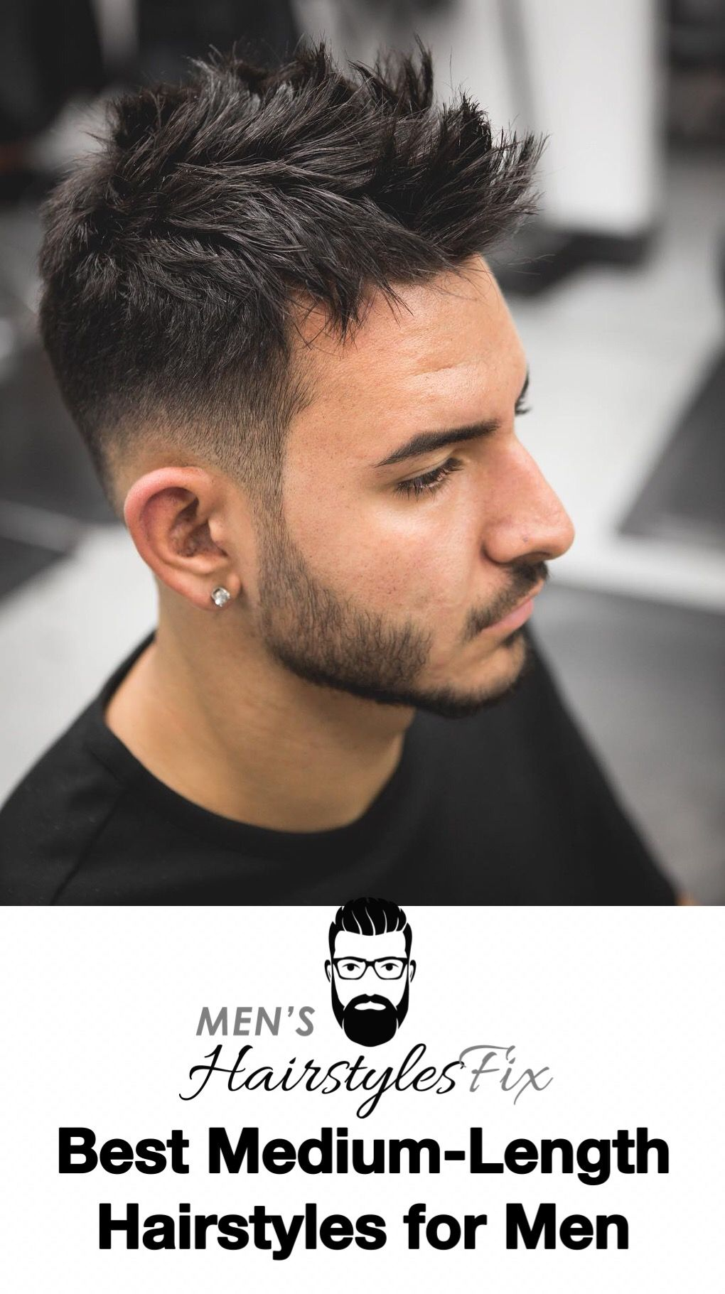best mediumlength hairstyles for men in best hairstyles