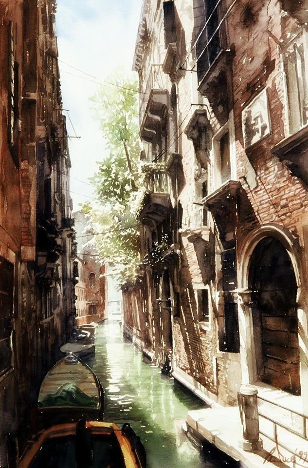 Paul Dmoch   Rio dei Meloni - Venice