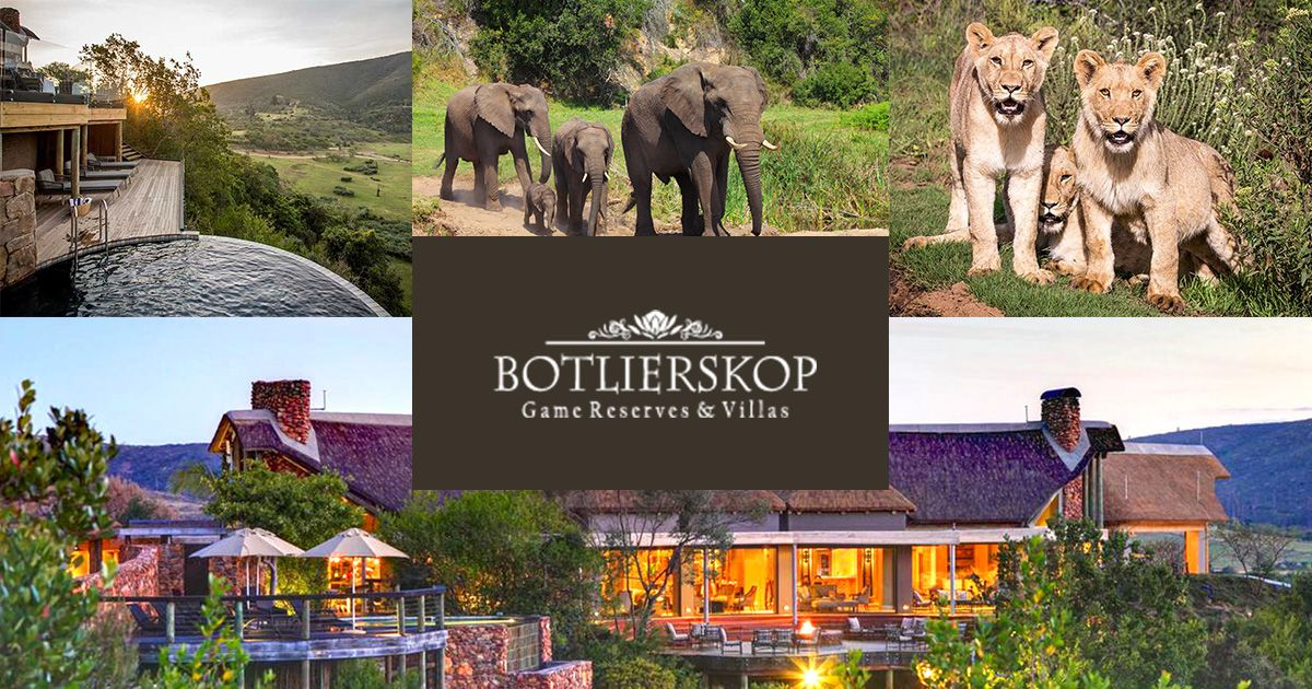Botlierskop offers luxury safari lodges, villas and game