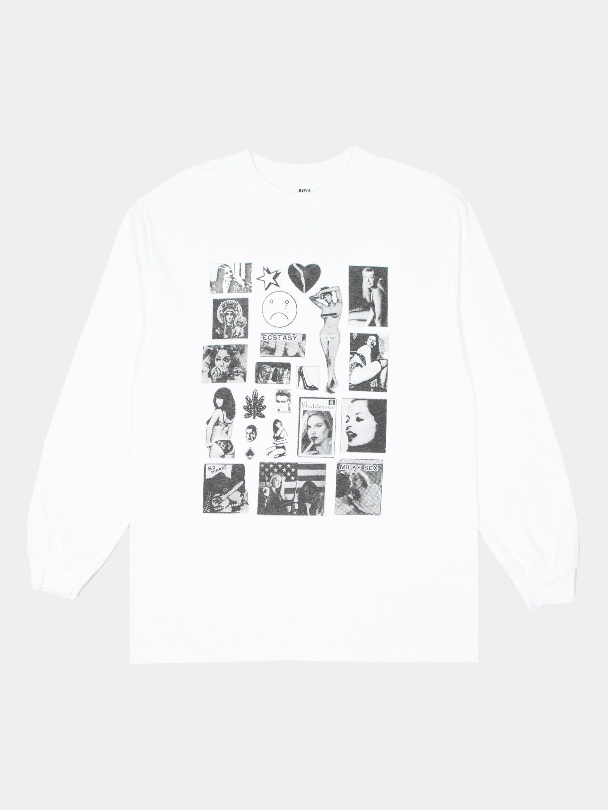 Buy Boys Of Summer Weirdo Dave L S T Shirt Online At Union Los Angeles In 2020 Graphic Sweatshirt Tshirts Online Shirt Online