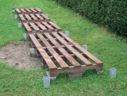 Wir zeigen Ihnen eine einfache Holzunterstand-Bauanleitung, mit - bauanleitung gartenbank holz
