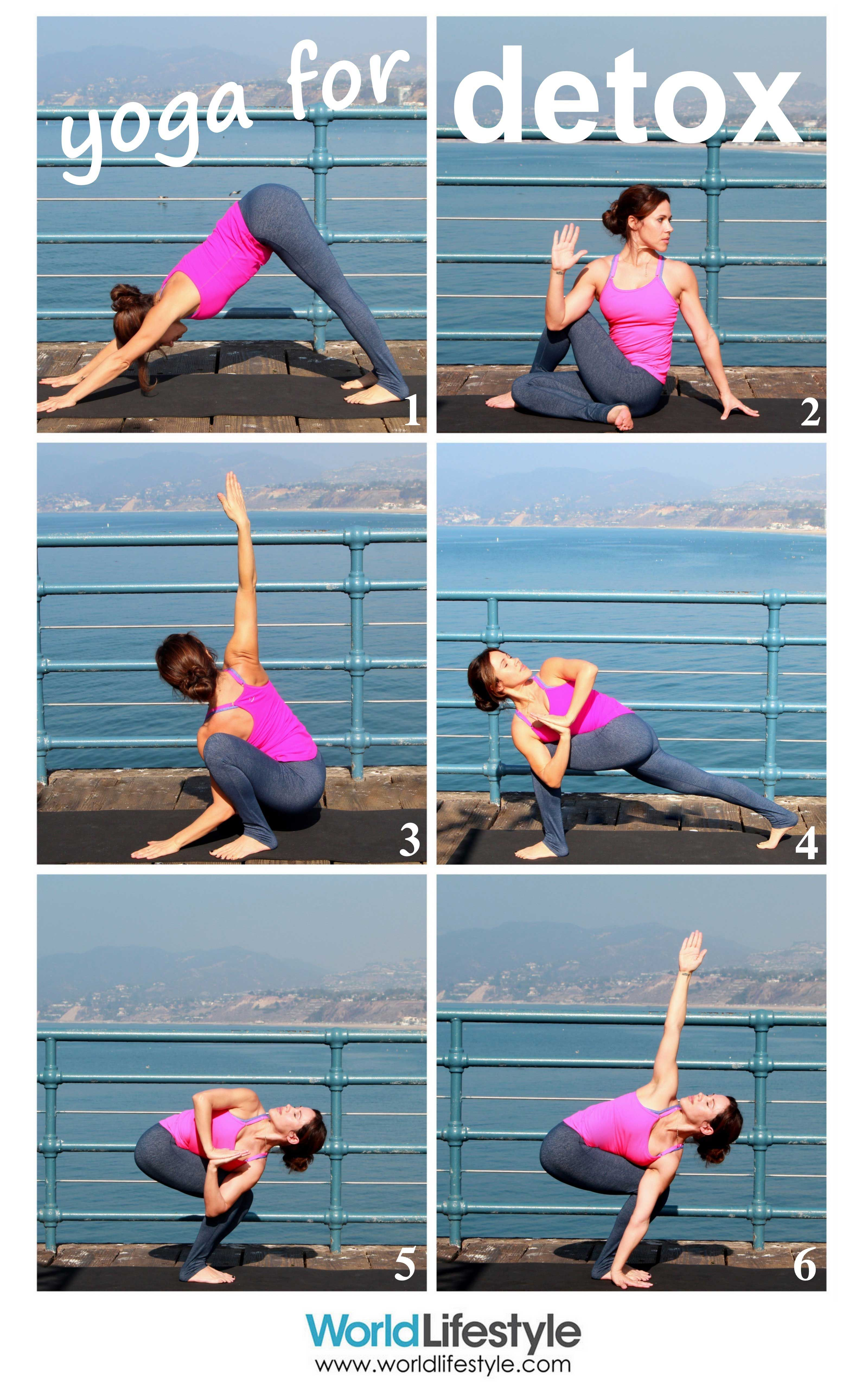Yoga for Detox: Use these 6 twisting yoga poses to wring out