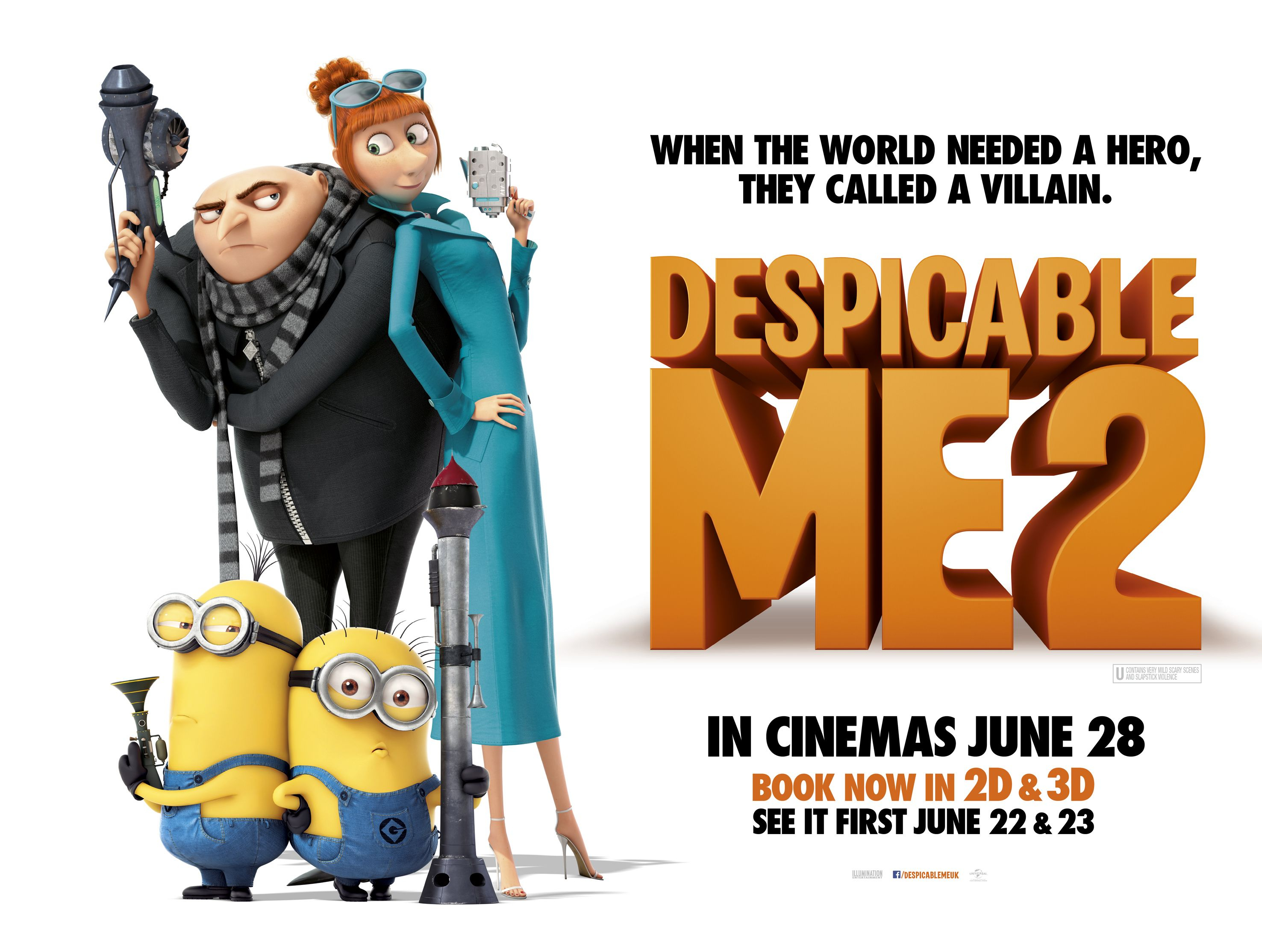 Despicable Me 2 (2013) ★★