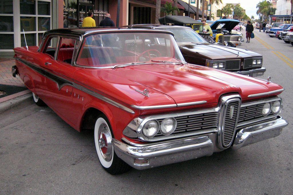 Florida - Fort Pierce - Classic Car Show - 1959 Ford Edsel | Ford ...
