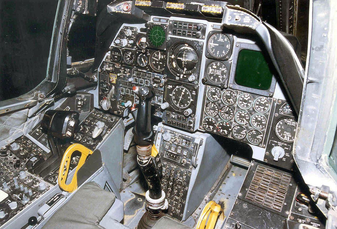 Fairchild Republic A 10a Thunderbolt Ii Cockpit 2 Usaf Fairchild