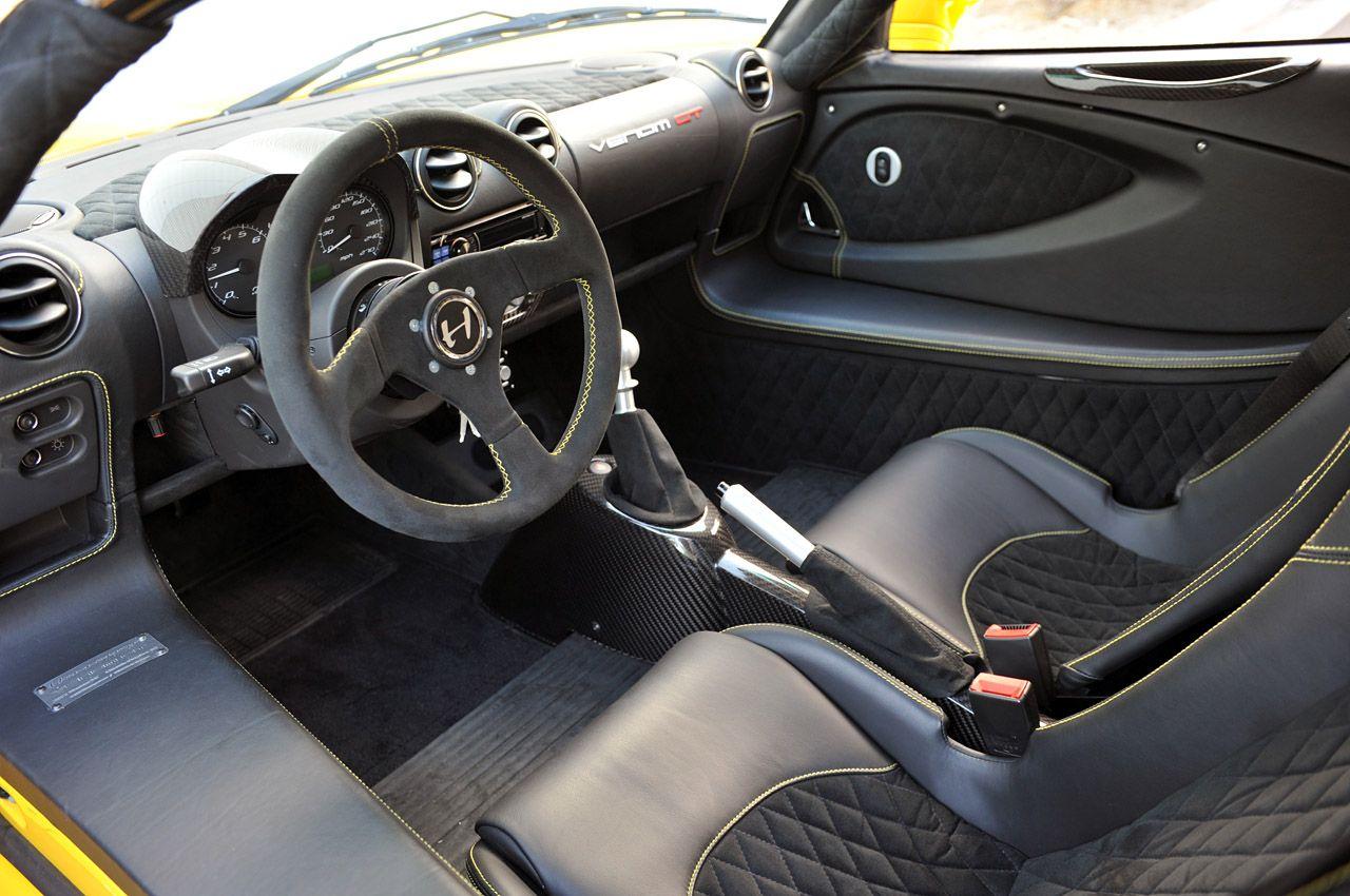 Hennessey Venom GT Interior