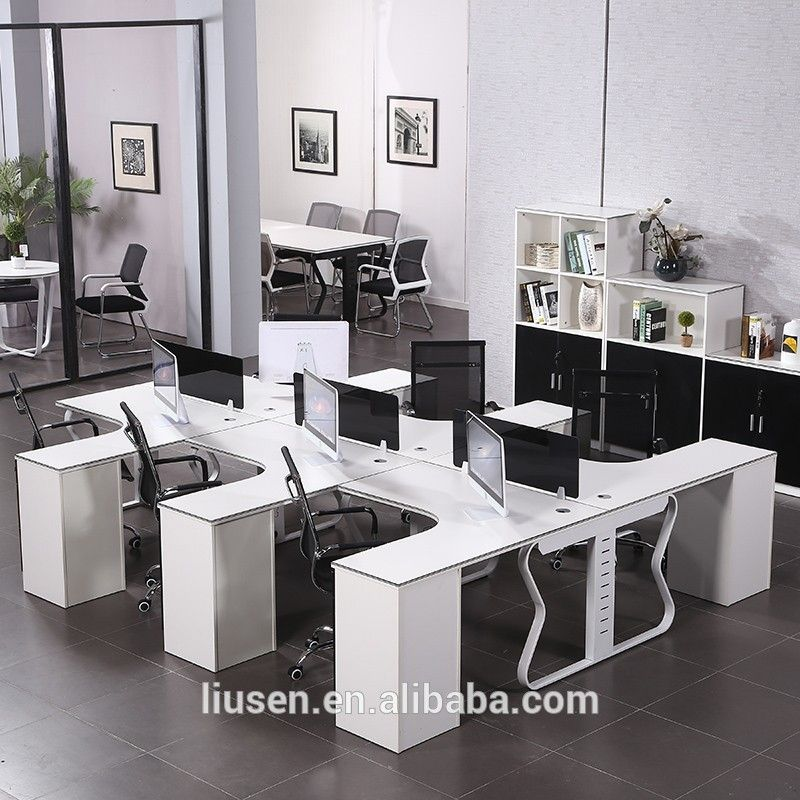 Big Discount Quality Assured Cubicles Office Furniture 6 People L Shape Cubicle