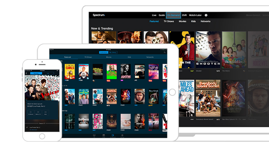 Spectrum Tv App On Iphone Ipad And Laptop Tv App Phone Service Tv Guide Listings