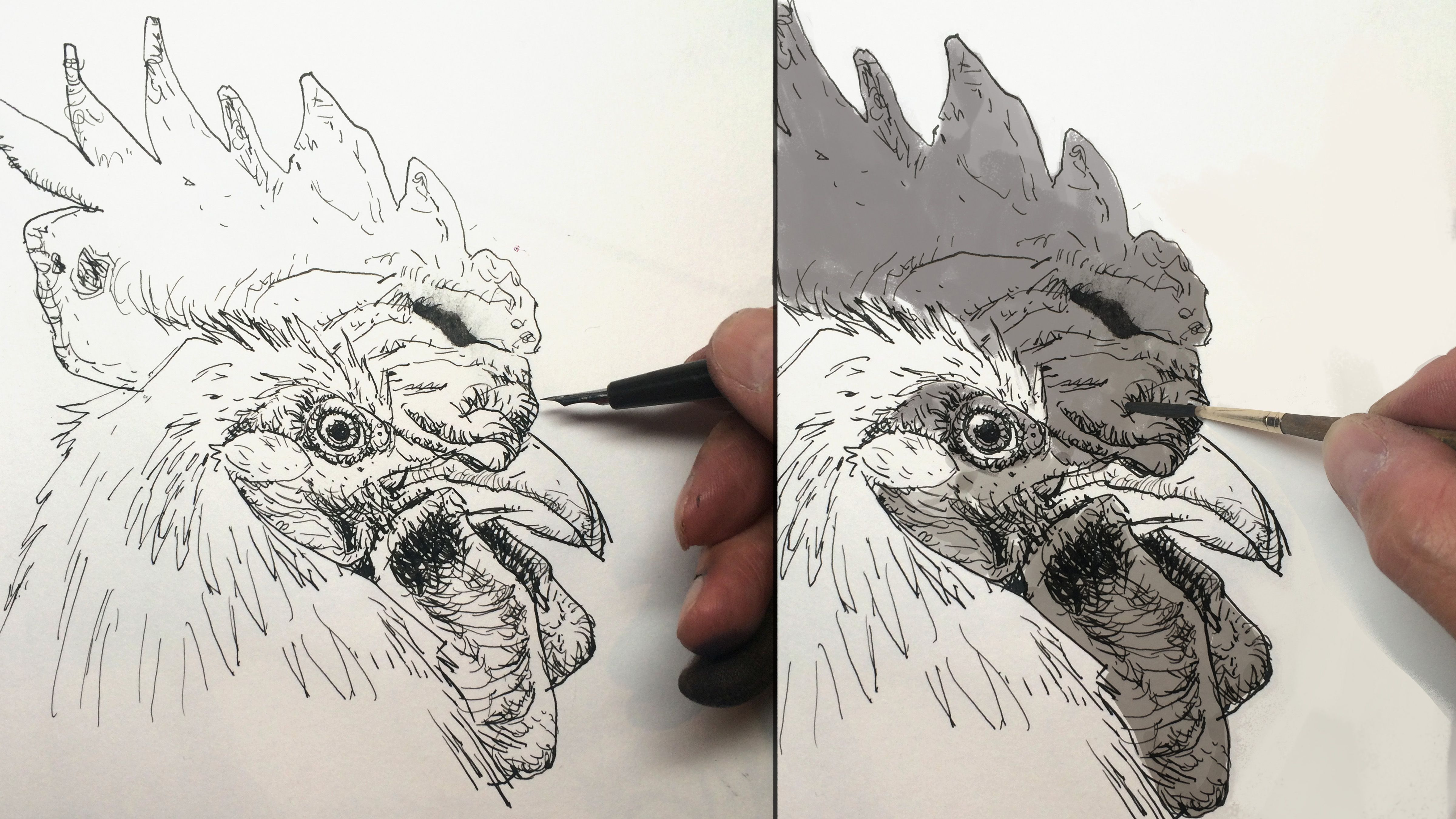 10 Pen Drawing Techniques And Tips