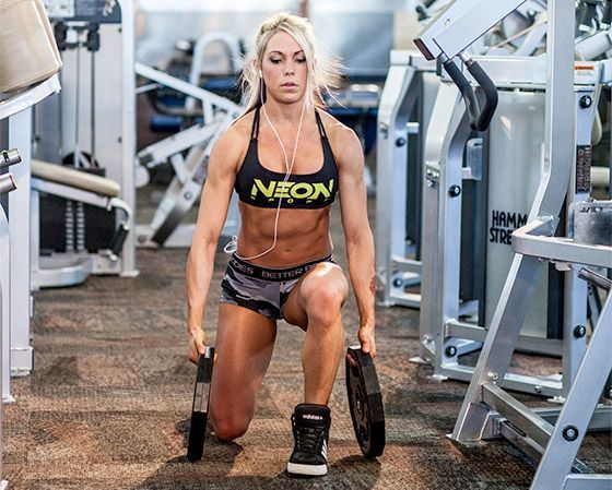 Build Legs Youll Love: Ashley Hoffmanns Leg Workout #fitness #fitnessworkouts