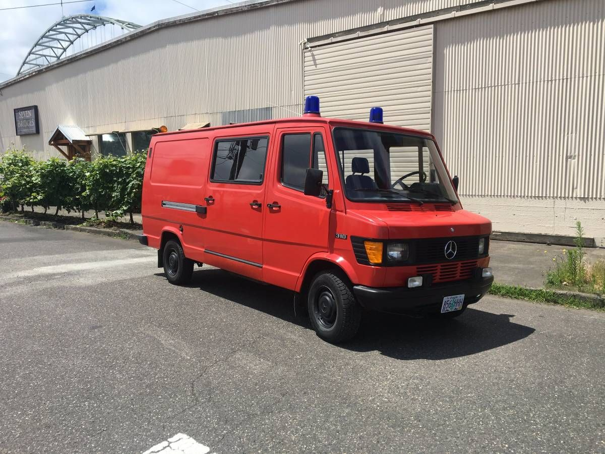 1987 Mercedes 310 sprinter Van cars & trucks by owner