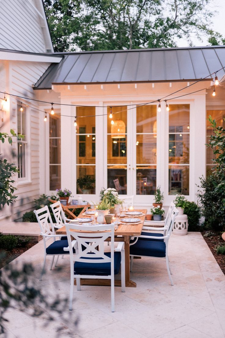 Our Back Patio Makeover Just In Time For Summer Entertaining - Gal Meets Glam