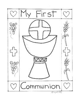 Catholic First Communion booklet - First Eucharist ...