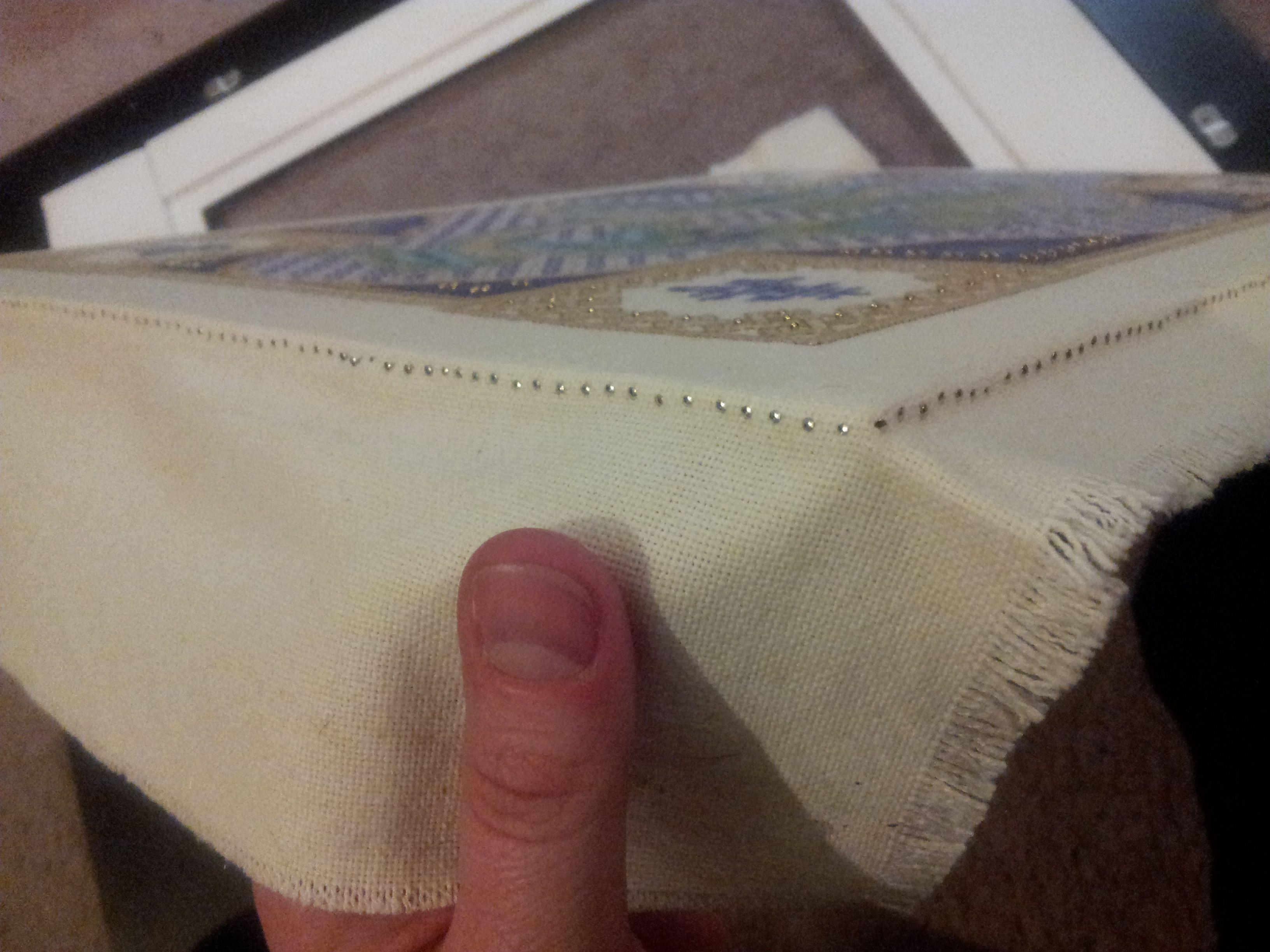 cross-stitch framing tutorial | Cross stitch, Stitch and Tutorials