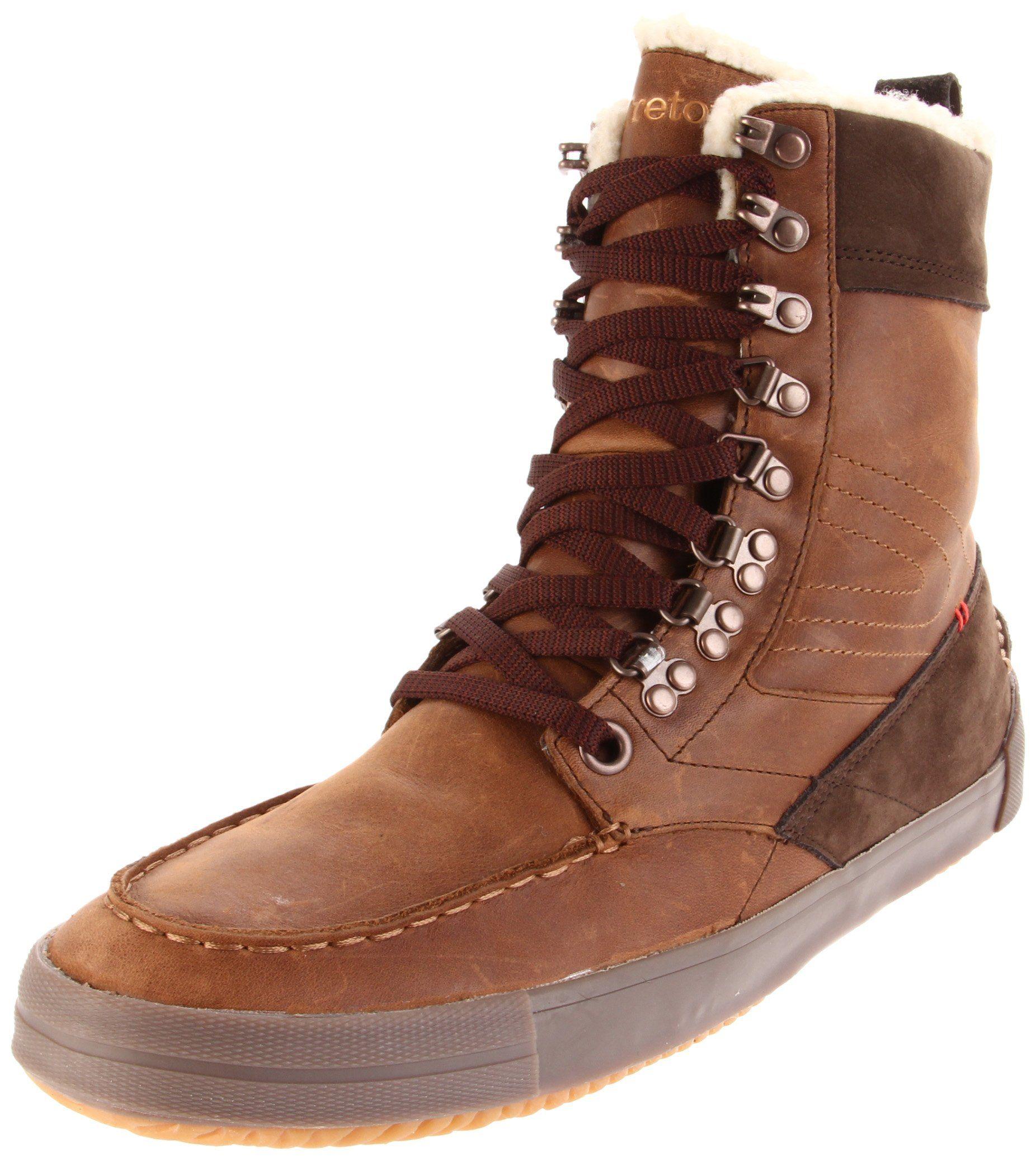 e88b4abd6be Amazon.com: Tretorn Highlander Vinter Hiking Boot, Black, Men's US 4 ...
