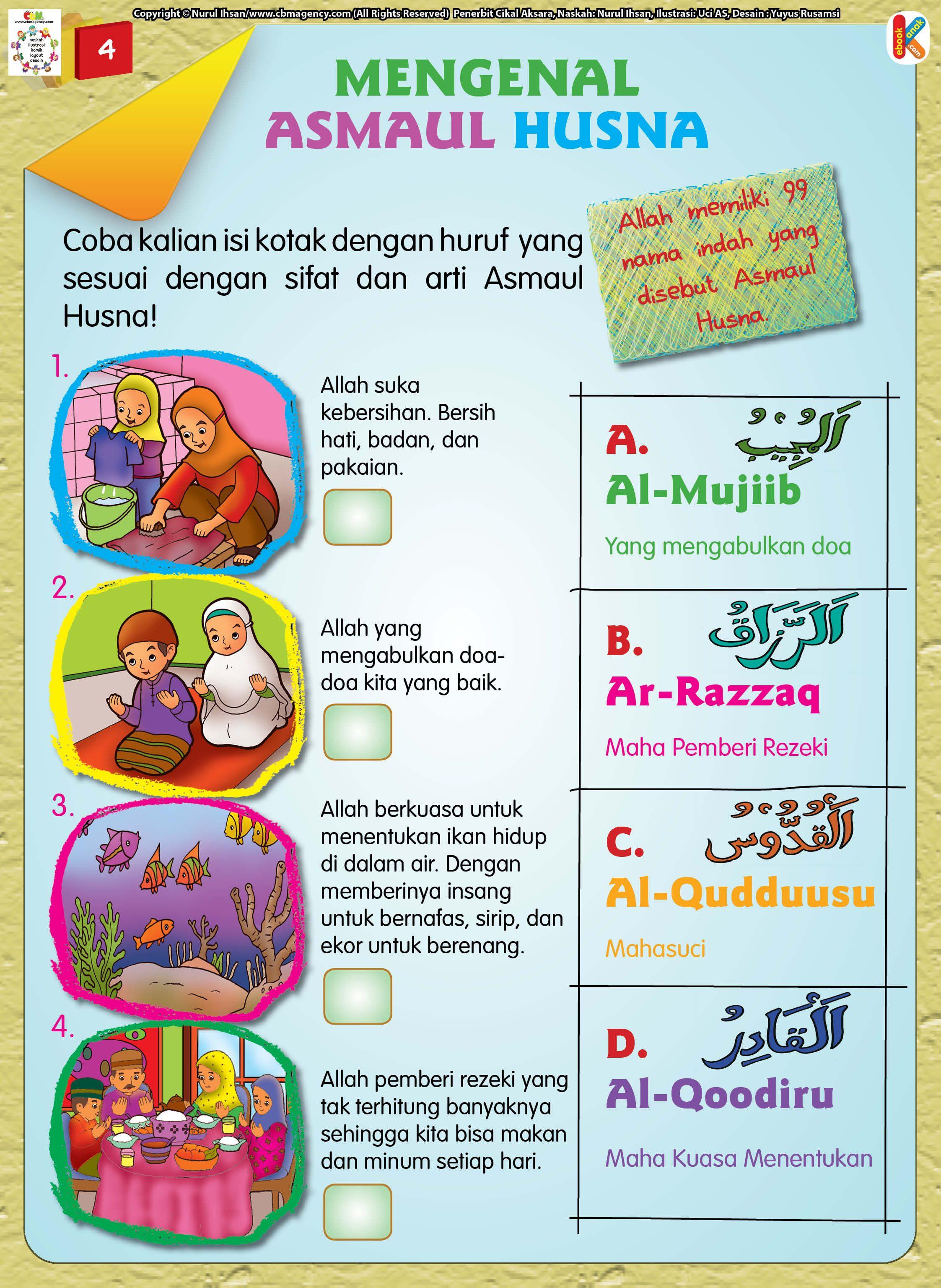 Mengenal Namanama Indah Asmaul Husna (Dengan gambar
