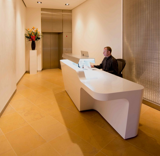 Muebles de recepcion on pinterest reception desks for Muebles de recepcion