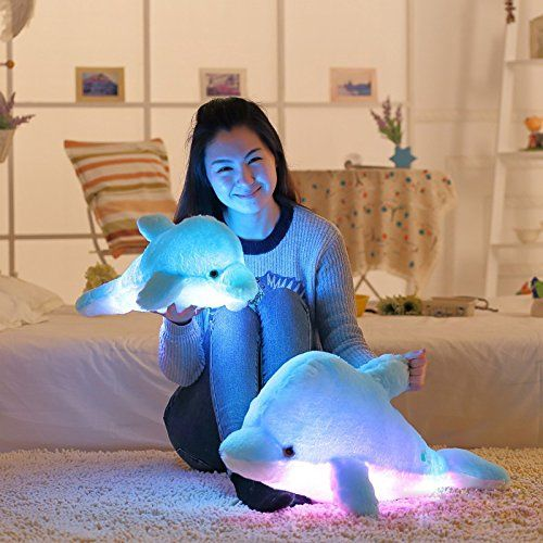 28 Super Cute Design Sea Animal Big Stuffed Toys Sparkling Dolphin